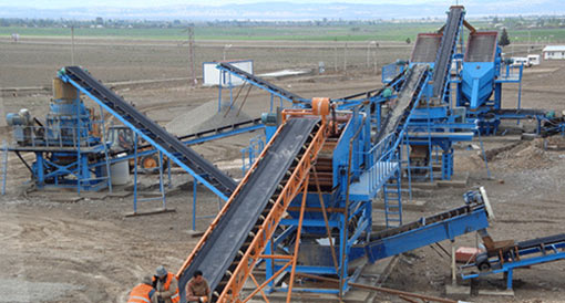 quarry crusher machine